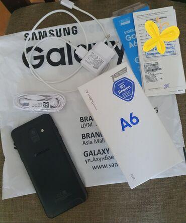 samsung a6 в Кыргызстан: Samsung Galaxy A6 32 ГБ Черный