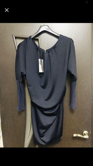 Платье цвет темно-синий,новое, куплено в Италии за 4600, разм s-m (