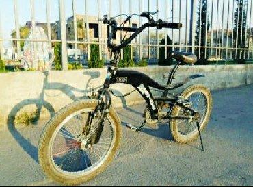 детский велосипед bmx 16 в Кыргызстан: Продаю детский велосипед bmx (бмх) на возраст 10-12 лет в отличном