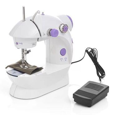 Швейная машинка портативная mini sewing machine sm-202a с адаптером