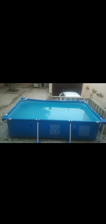hovuz satılır in Azərbaycan | HOVUZLAR: Intex hovuzu tezedir.3/2 olcude.Alindi ushaqlar 1ce defe icine