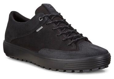 спортивне обувь в Кыргызстан: Мужские зимние кроссы Ecco,• Верх обуви выполнен из кожи промасленный