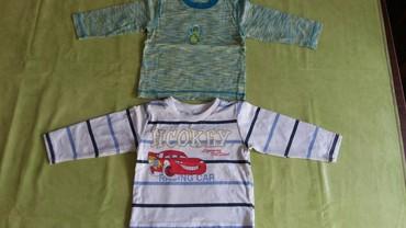 Dug rukav pamuk - Srbija: Majice za bebe na dug rukav vel. 12M,polovne,ocuvane.100%