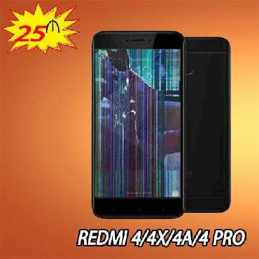 xiaomi-redmi-4a в Азербайджан: Redmi 4/4X/4A/4 pro sensor bərpası 25 azn.Ekran 35 azn.Məhsullarımız