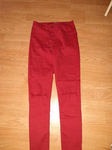 Kozne-patalone-crvene-broj - Srbija: Crvene pantalone S velicine