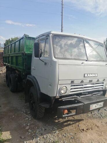 Купить камаз самосвал бу - Кыргызстан: Продаю КАМАЗ с прицепом!В отличном состоянии! Без прицепа цена С