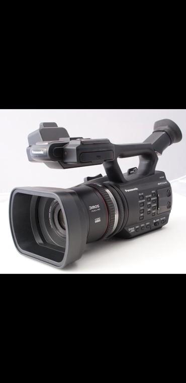 Фото и видеокамеры в Кыргызстан: СРОЧНО!Продаю профессиональную камеру. Panasonic AG ac-90 состояние