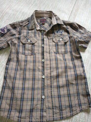 Рубашка состояние отличное На возврат 6-7-8 л