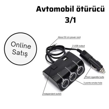 avtomobil üçün tent - Azərbaycan: Avtomobil üçün ötürücü şarjHəqiqətən, bir Car Adapter 2 USB &