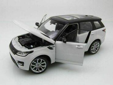 Коллекционная модельRange Rover Sport II generation white black