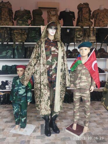 детские вещи платья в Азербайджан: Usaq herbi geyimleri. Kicik Qehramanlar ucun Herbi Geyimler