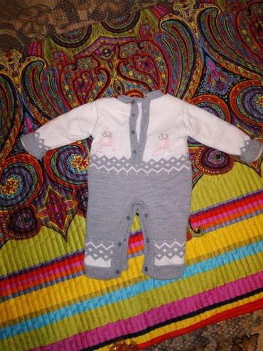 Продам зимний комбинезон для малышей от 4 до 7 месяцев. в Бишкек