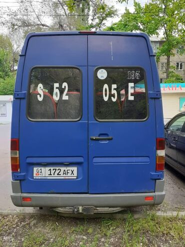 Mercedes-Benz в Таджикистан: Mercedes-Benz Sprinter 2.9 л. 1998 | 800000 км