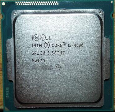 компьютеры за 5000 в Кыргызстан: Процессор для ПК. Lga 1150 сокет. Core i5-4690 3'5Ghz (4 ядра; 4 поток