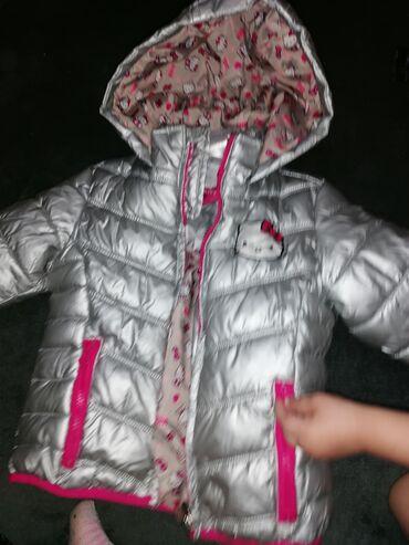 Dečija odeća i obuća - Velika Plana: Preslatka jaknica za curice, 98 velicina, nosena jednu sezonu. Kao