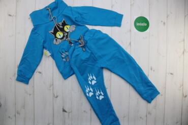 Спортивний костюм Кошеня НОВИЙ, 30    Колір синій Розмір 30  Зріст 110