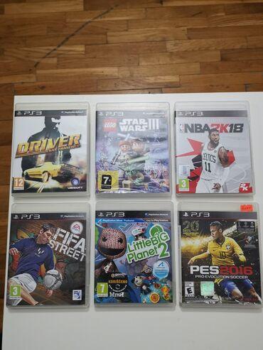 PS3 igrice u odlicnom stanju