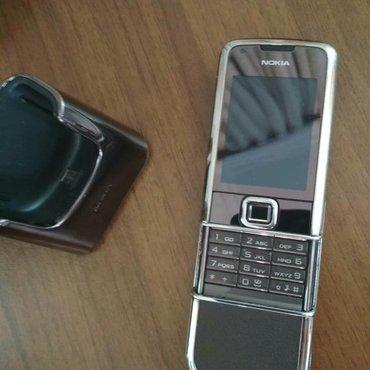 Bakı şəhərində Nokia 8800 sapphire