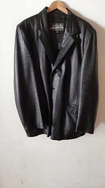 мужской плащ в Кыргызстан: Кожаный пиджак. Чистая кожа! Большой размер Куртка мужская