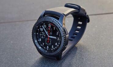 samsung gear s3 в Кыргызстан: Черные Мужские Наручные часы Samsung