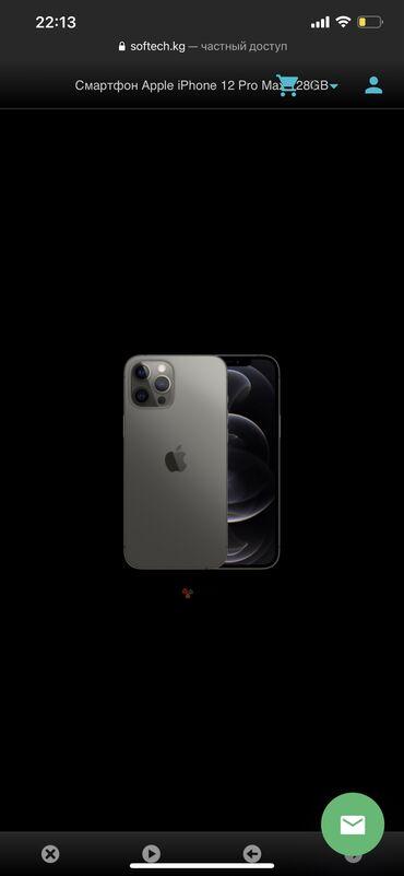 Новый iPhone 12 Pro Max 128 ГБ Серый (Space Gray)