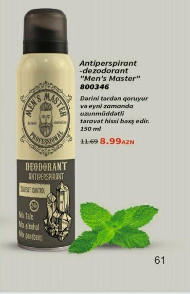 Antiperspirant dezodorant(kişiler ucun)