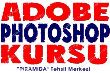 Bakı şəhərində Adobe Photoshop kursu.