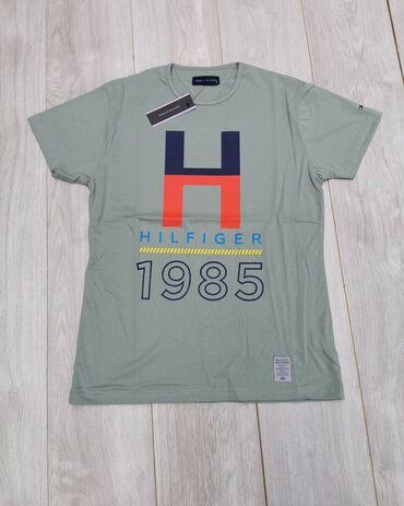 Oko stvari mix musko zenski prva klasa - Srbija: Nove Tommy Hilfiger muske majice. Velicine M, L, XL, XXL. Pamuk. Prva