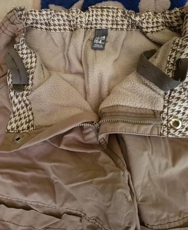 Farmeke-broj - Srbija: Zara jako debele zimske termo postavljene pantalone za decake. Kao