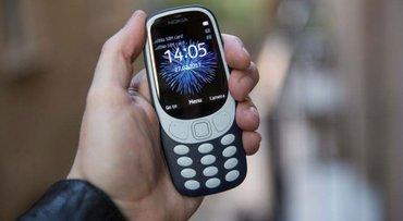 Nokia 3310 (dual sim) dve kartice srpski meni boje crna, svetlo plava  - Beograd