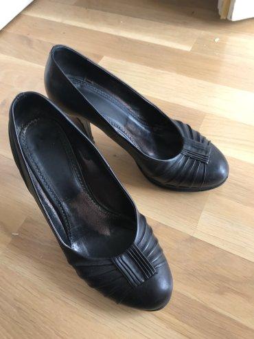 Kozne Paar cipele, nekoliko puta nosene, kao nove. Stikla 9 cm, udobne - Belgrade