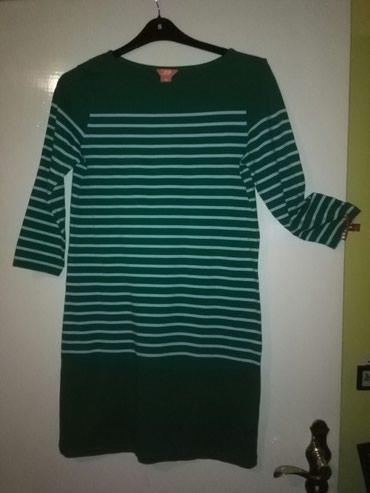 Tunika haljina za krupnije dame,pise L al se rasteze,prelepa zelena - Sombor