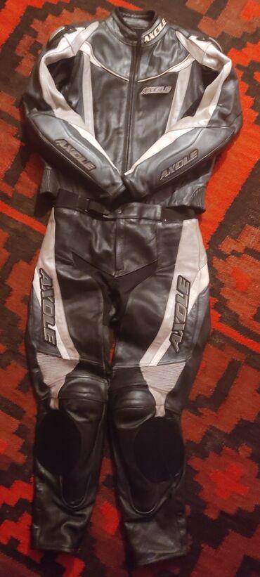 бренды классической мужской одежды в Кыргызстан: Мото комбез 54_размер куртка и штаны по отдельности можно одеть. Состо