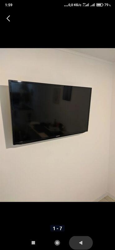 sony телевизор диагональ 70 см в Кыргызстан: Срочно продаю телевизор Самсунг. Диагональ 40 дюйм (103 см), б/у рабоч