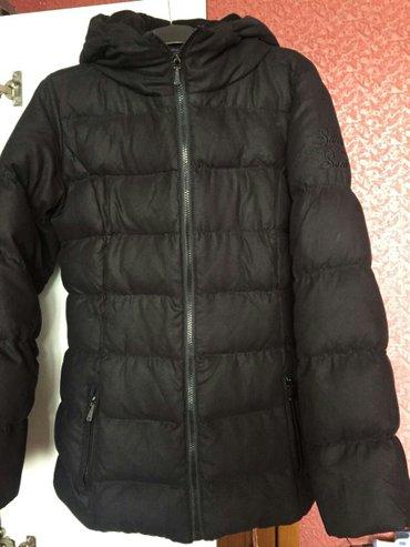 Bakı şəhərində Женская куртка. почти новая. размер м. пуховая.
