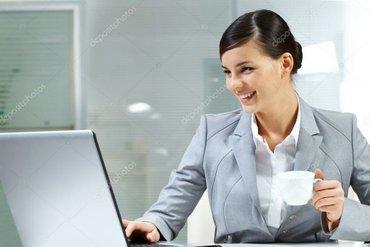 работа для женщин. требование: -ответственность -коммуникабельность  - в Бишкек