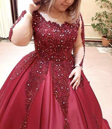 платье халат на запах в Кыргызстан: Продаю Платье Размер: 48-50
