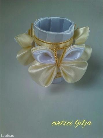 Prstenovi za salvete moguca izrada u vise boja  - Loznica - slika 3