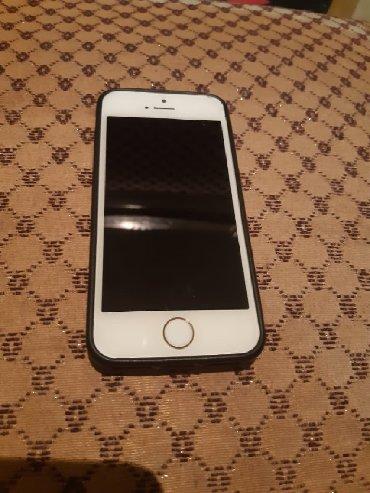 чехол iphone 5c в Азербайджан: (BARTER EDİRƏM) Telefon iPhone 5s orta düyməsi işləmir başqa heçbir