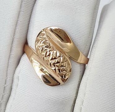 sergi iz zolota 375 proby в Кыргызстан: Кольцо из красного золота, 375 проба. Размер 17.5. Цена 5460 сом