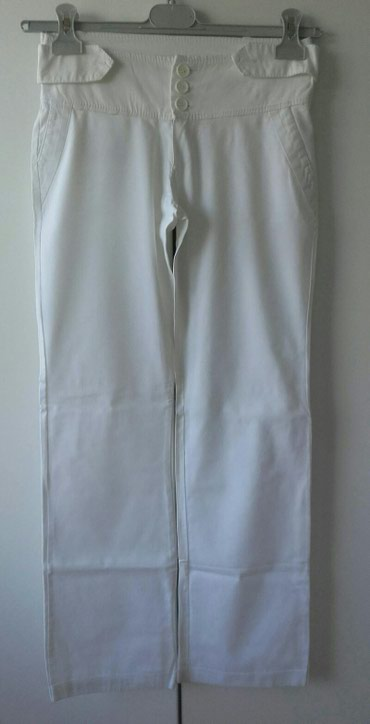 Pantalone bele ZUIKI italijanske - Belgrade