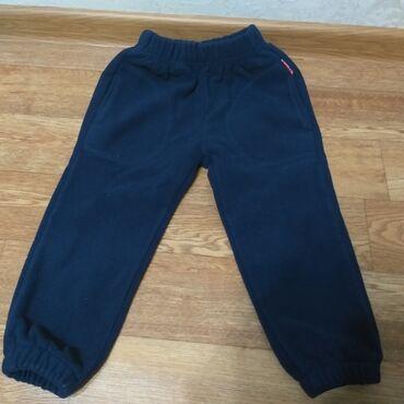 Теплые зимние штаны с начесом флисовые на 1,5 года до 2,5. Состояние