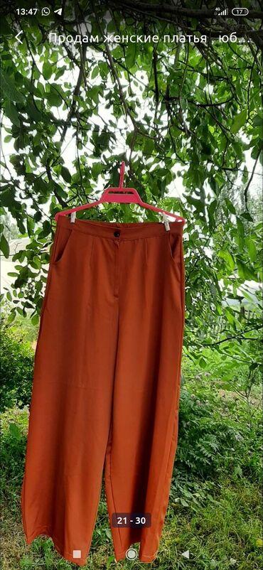 Личные вещи - Буденовка: Продаю брюки кюлот размер 46,цвет кирпичный, ткань костюмная