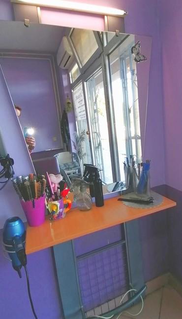 Oprema za frizerski salon - Srbija: Dva radna mesta za frizerski salon i sto sluzio za manikir, moze za