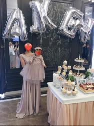 платья на прокат бишкек для детей в Кыргызстан: На прокат. Платье на выпускной, Платье мама-дочка в аренду  Одевали вс