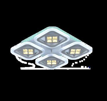 софиты бишкек in Кыргызстан | ЖАРЫКТАНДЫРУУЧУ ШАЙМАНДАР: Светильник led mdl80015/4b умный потолочный светодиодный светильник  м