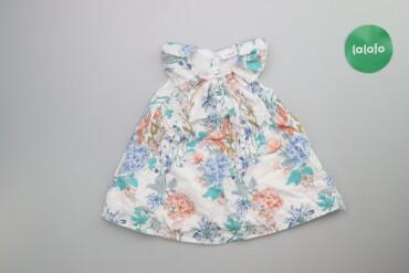 Детская одежда и обувь - Киев: Дитяче плаття в квітковий принт Next 6-9 міс.    Довжина: 38 см Напіво