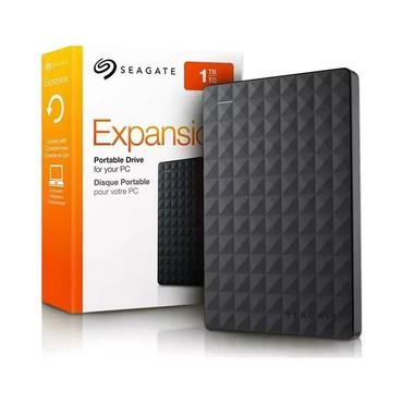 жесткие диски seagate в Кыргызстан: Внешний жёсткий диск Seagate 1TB  Expansion