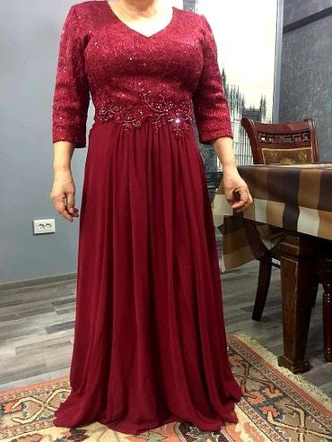 красное платье на свадьбу в Кыргызстан: Очень красивое изящное платье, смотрится просто шикарно, камни ручно