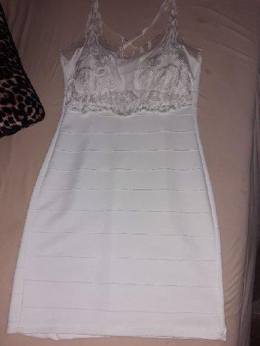 Bela haljina sa cipkom - Srbija: Nove haljine donete iz Amerike,izuzetan kvalitet trake koje oblikuju